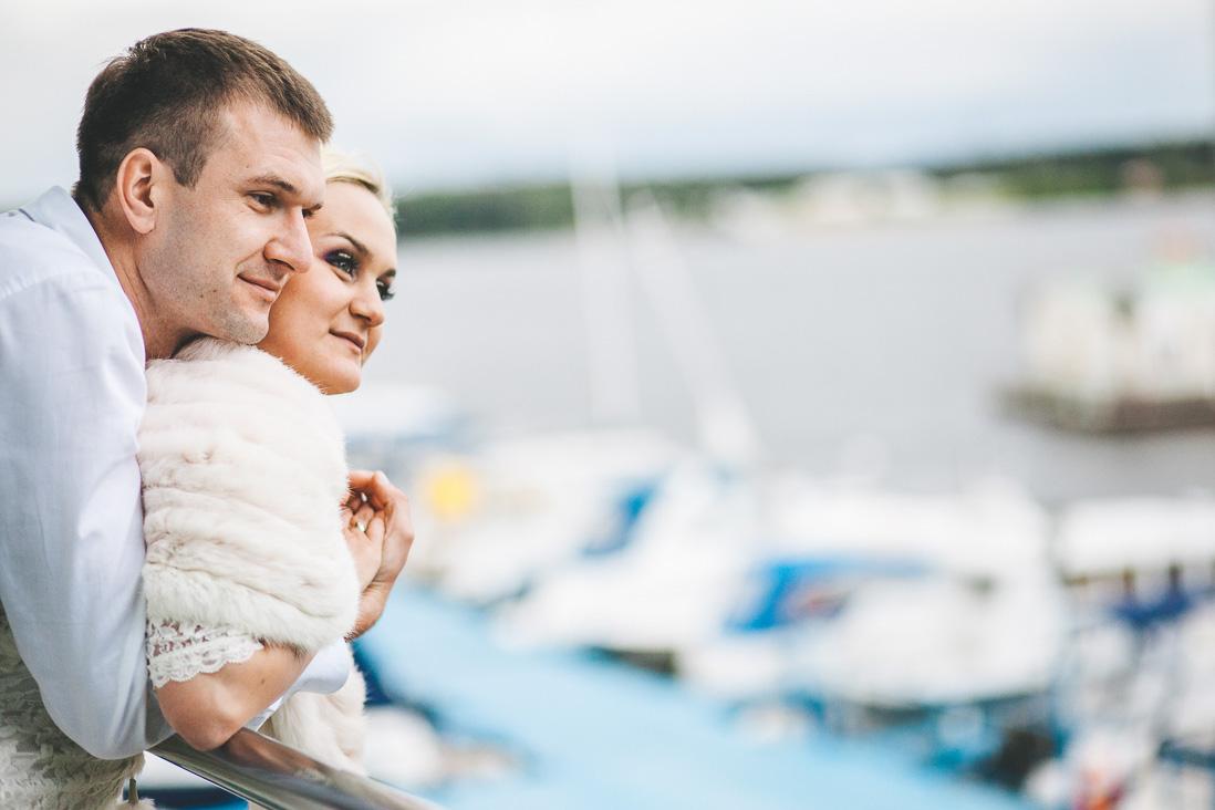 Свадьба в яхт-клубе Михаила и Иветты