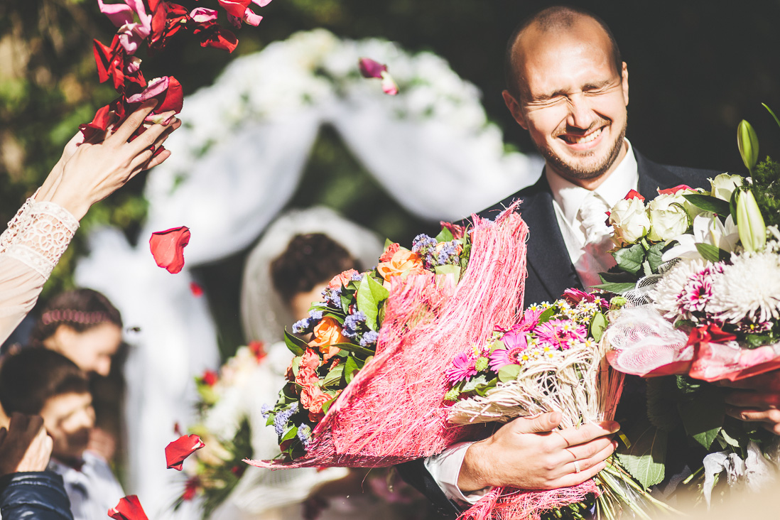 Осенняя свадьба Миши и Ксюши