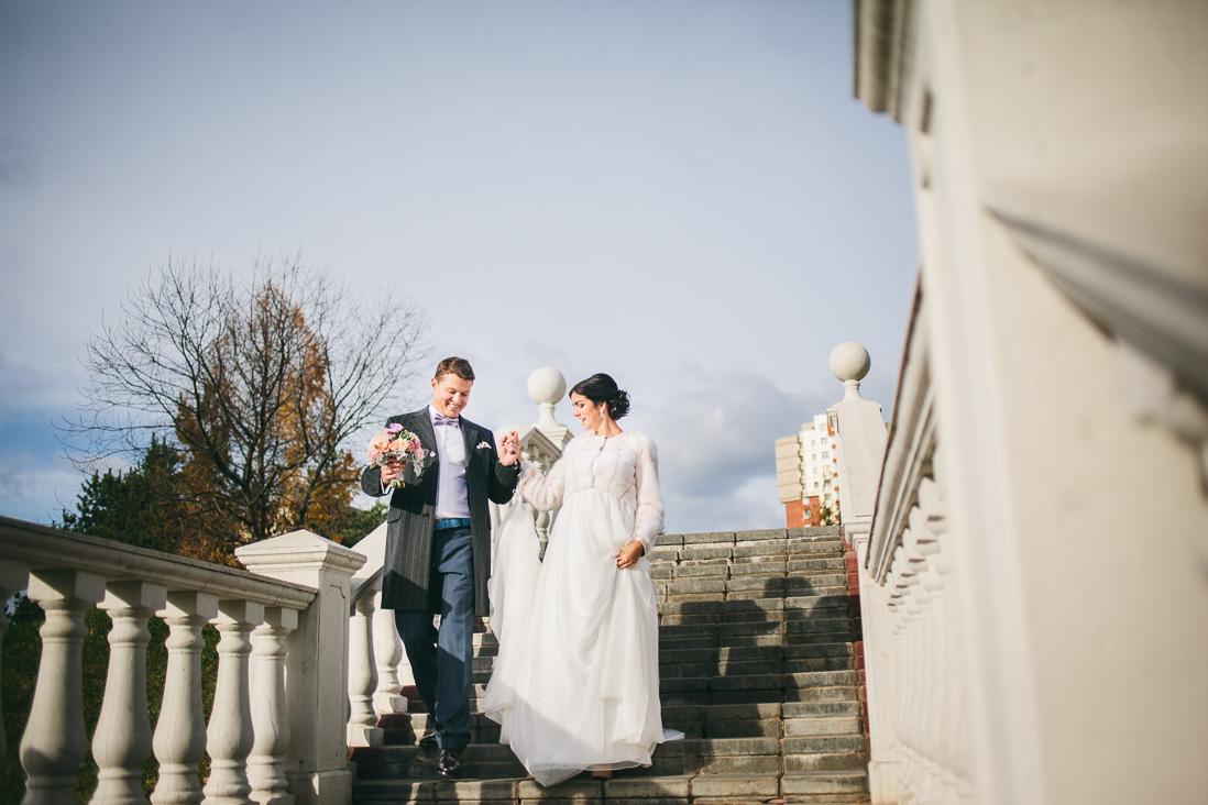 Осенняя свадьба в Зеленограде