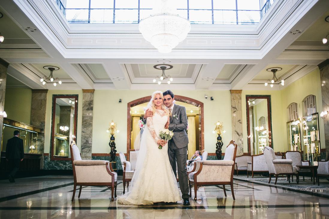 Свадьба Карена и Алины: МГУ и гостиница Метрополь
